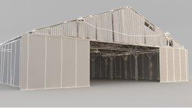 hangar, garage 3d (2)