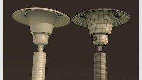 Street lampa light 3d