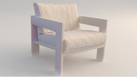 Wooden Furniture Garden Chair 3d (120)