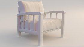 Wooden Furniture Garden Chair 3d (127)