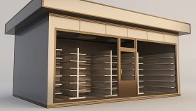 Building Store (2) 3d