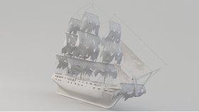 Ship Black Pearl 3d