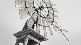 Wind Pump 3D Model