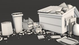 Dumpster 3d