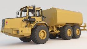 Dump Truck Articulated A30C Water Truck (2) 3d