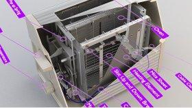 Toaster Diagram Inside Parts 3D Model 1