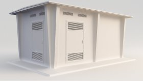 Electrical substation 3d (4)