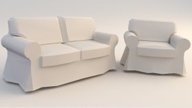 3d Sofa Chair Low (84)