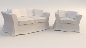 3d Sofa Chair Low (99)