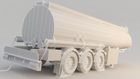 Fuel Tank Fuel Oil trailer Low 3d (2)