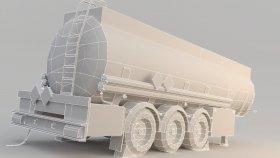 Fuel Tank Fuel Oil trailer Low 3d (3)