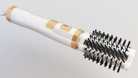 Hair Dryer Hot Air Curling Brushes 3d (3)