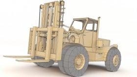 Forklift TD78 3D Game Mods Model 2