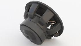 Bass Speaker Woofer 3D Model 9