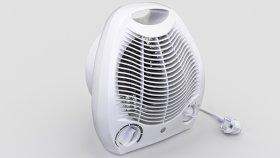 Fan Portable Heate Inside 3d (1)