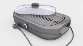 Electric Grill 3d Inside (1)