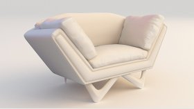 Chair Armchair Classic 3d (259)