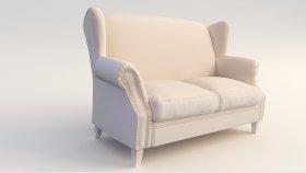 3d Sofa Classic (214)