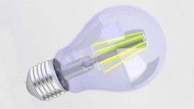 Bulb LED Filament 3d (5)